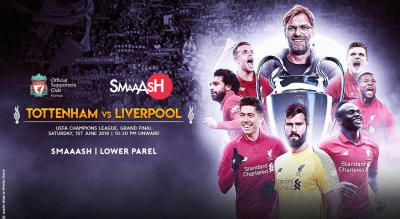 Liverpool v Spurs | UCL Final Official Screening | Lower Parel