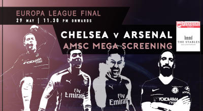AMSC Official Screening | Arsenal v Chelsea | Europa League Final