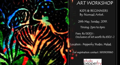 Art workshop - Kids & Beginners by Nomad Artist