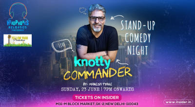 Knotty Commander Live: A solo show by Manish Tyagi