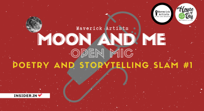 Moon and Me | Open Mic | Poetry and Storytelling Slam #1