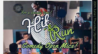 Hit & Run 53.0 - stand-up comedy open mic
