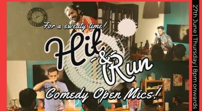 Hit & Run 54.0 - stand-up comedy open mic