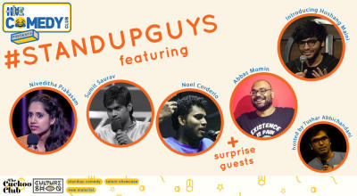 Standup Guys featuring Niveditha, Sumit, Noel and Abbas