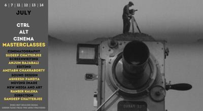 Ctrl Alt Cinema - Masterclasses