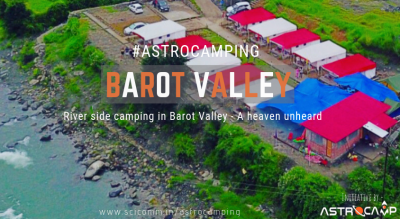 Riverside Camping in Barot Valley