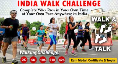 INDIA Walk- 2K 5K 10K 21K 42K