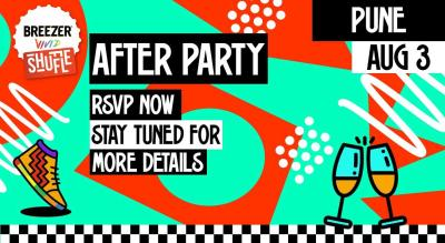 Breezer Vivid Shuffle Afterparty | Pune edition