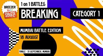 Breezer Vivid Shuffle – Calling all Breakers in Mumbai!