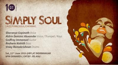 Simply Soul (Jazz/Funk/Soul/Chennai)