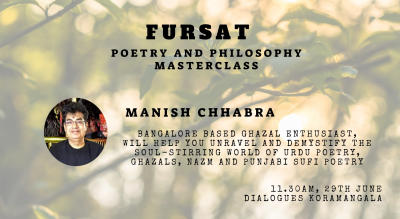 Fursat - Poetry and Philosophy Masterclass