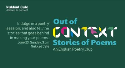 Out of Context - An English Poetry Club