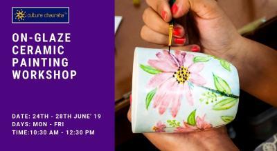 On-Glaze Ceramic Painting Workshop