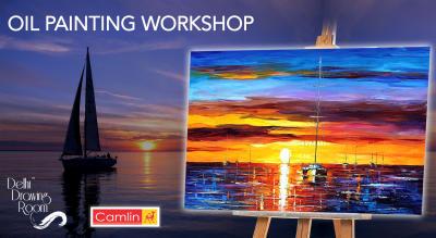 Oil Painting Workshop by Delhi Drawing Room