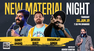 New Marterial Night Ft Sumit Anand, Devesh Dixit & Vikramjit Singh