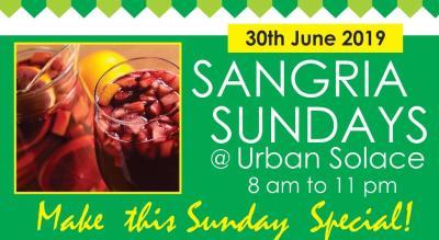 Sangria Sundays @ Urban Soalce