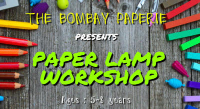 Paper Lamp Workshop for Kids