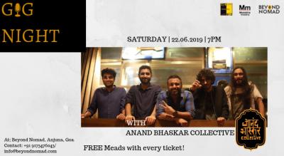 Beyond Nomad Gig Night I Anand Bhaskar Collective