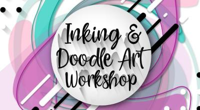 Inking & Doodle Workshop by The Dram-ART-ic Life
