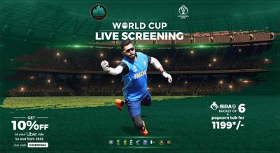 Cricket World Cup 2019 Live Screening
