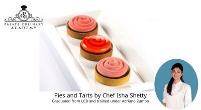 Pies and Tarts by Chef Isha Shetty