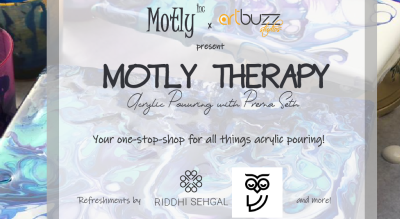 Motly Therapy: Acrylic Pouring with Prerna Seth