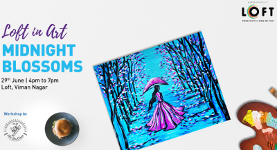 Midnight Blossoms Painting On Canvas