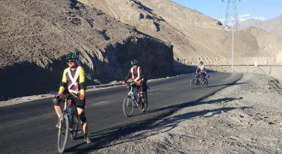 Cycling through Leh Lamayuru | YHAI