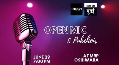 Open Mic And Pubchoir at At MRP Oshiwara