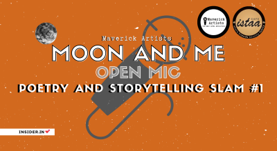 Moon and Me | Open Mic | Poetry and Storytelling Slam #1 (Vapi)