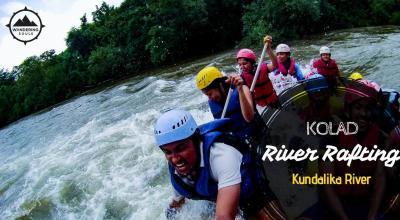 River Rafting Kolad | Wandering Souls