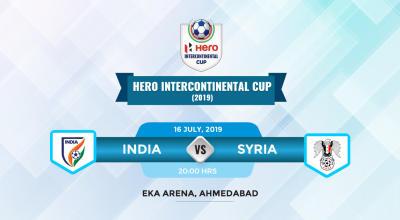 Hero Intercontinental Cup 2019 - India vs Syria