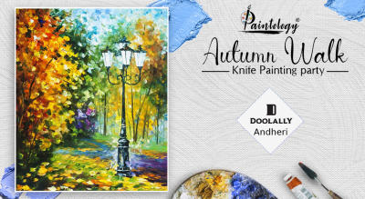 Knife Painting Party- 'Autumn Walk'