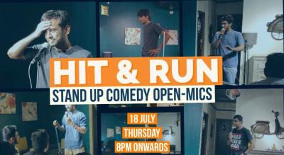 Hit & Run 57.0 - stand-up comedy open mic