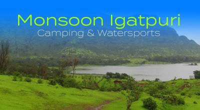 Monsoon Igatpuri Secret Lake Camping & Watersports - With Bhatakna