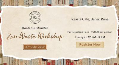 Rooted &  Mindful - Zero Waste Workshop