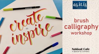 Brush Calligraphy Workshop - Viman Nagar