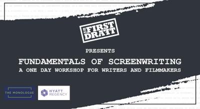 AIB First Draft: Fundamentals of Screenwriting, Ahmedabad