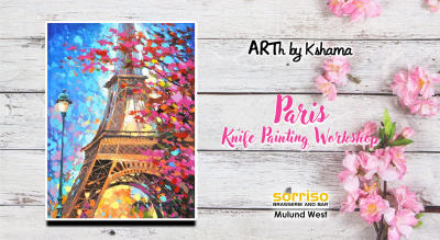 Paris- Knife Painting Workshop