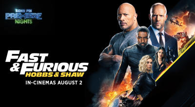 Fast & Furious Presents: Hobbs & Shaw - Win Tickets To The Exclusive Premiere from Sony PIX!