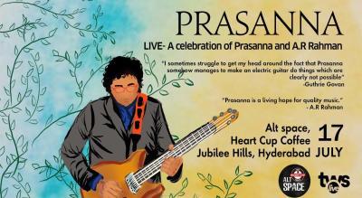 Prasanna - Live in Concert - A celebration of AR Rahman and Prasanna
