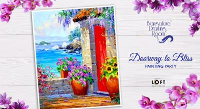 Doorway to Bliss Painting Party by Bangalore Drawing Room