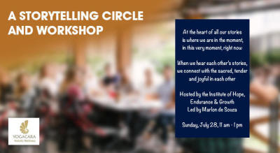 A Storytelling Circle and Writing Workshop