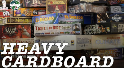 Heavy Cardboard Wednesday with ReRoll Board Games