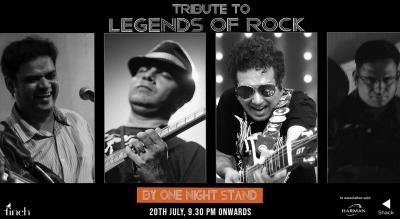 Tribute to Rock Legends By One Night Stand