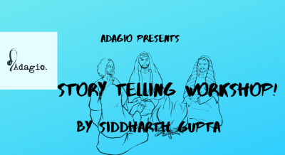 Story Telling Workshop - Siddharth Gupta