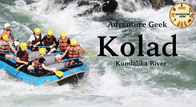 River Rafting at Kolad | Adventure Geek