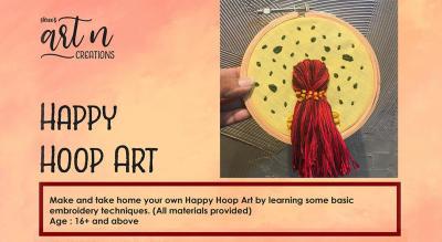 Happy Hoop Art