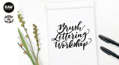 Brush Lettering with Letters and All That