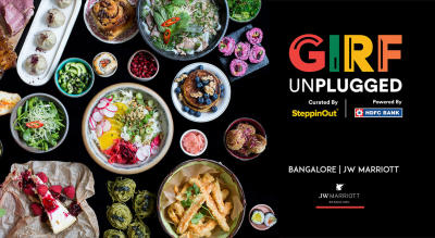 GIRF Unplugged - Great Indian Restaurant Festival   Bangalore